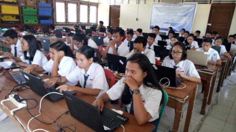 Pelaksanaan UNBK Tingkat SMP